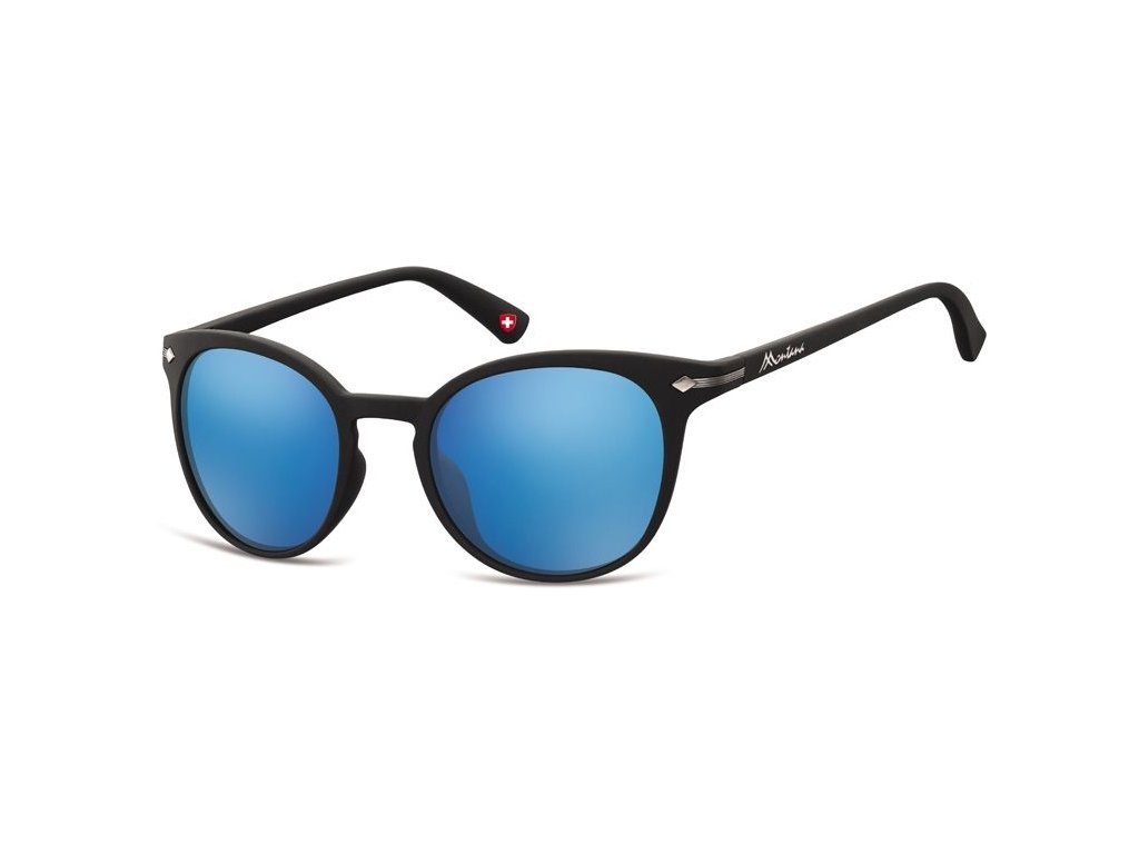 MONTANA EYEWEAR Sluneční brýle MONTANA MS50 Cat.3 Revo blue lenses