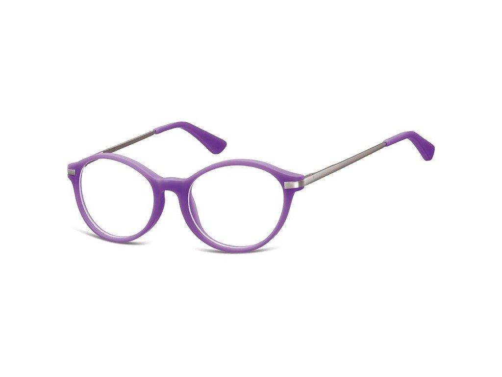 SUNOPTIC Dětské brýlové obroučky AK46D Purple