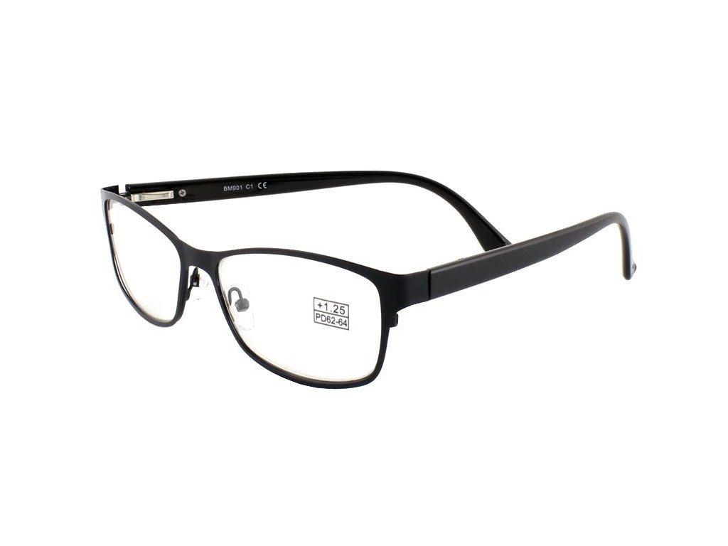 Dioptrické brýle BM901/ +1,00 BLACK s pérováním