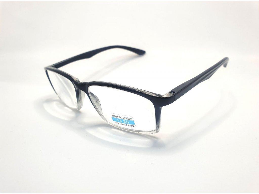 Dioptrické brýle P2.02/ +4,50 black