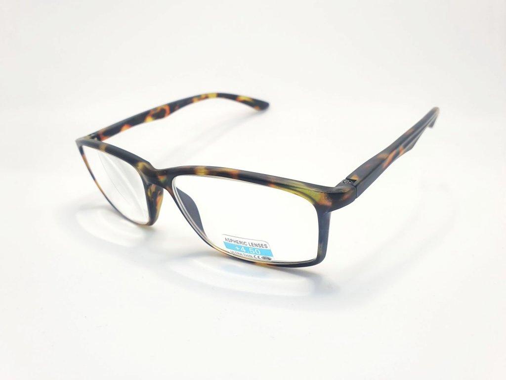 Dioptrické brýle P2.02/ +4,50 brown
