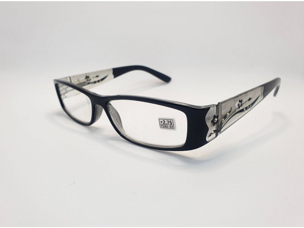 Dioptrické brýle 8890 /+3,00 černé