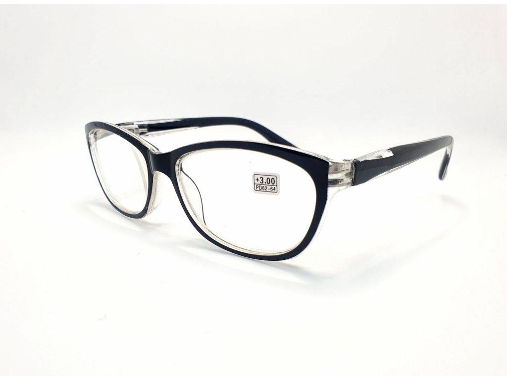 Dioptrické brýle 9537 /+3,00 černé