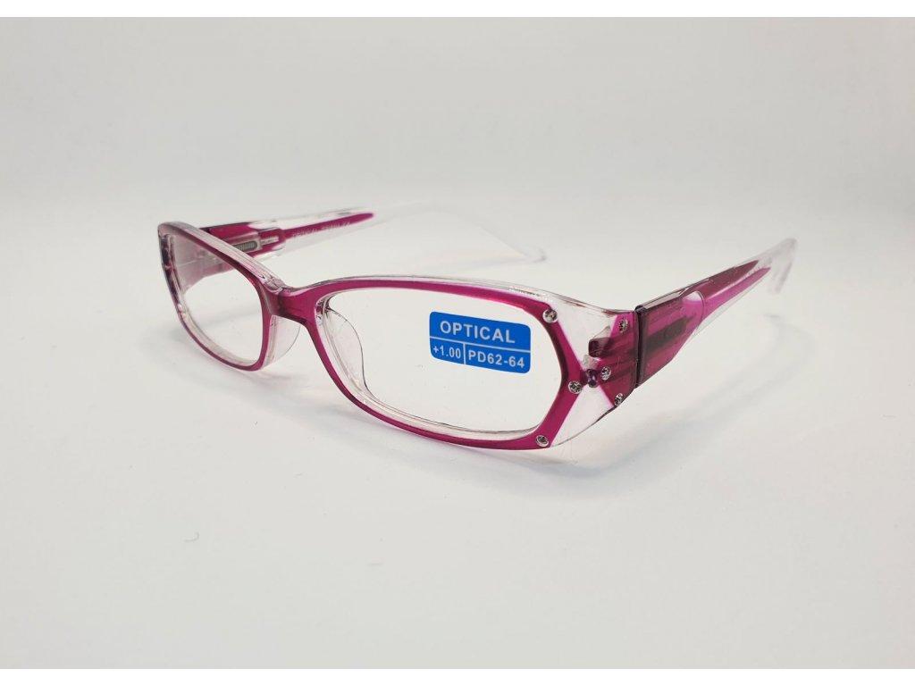 Dioptrické brýle OPTICAL TR894 /+2,00 růžová