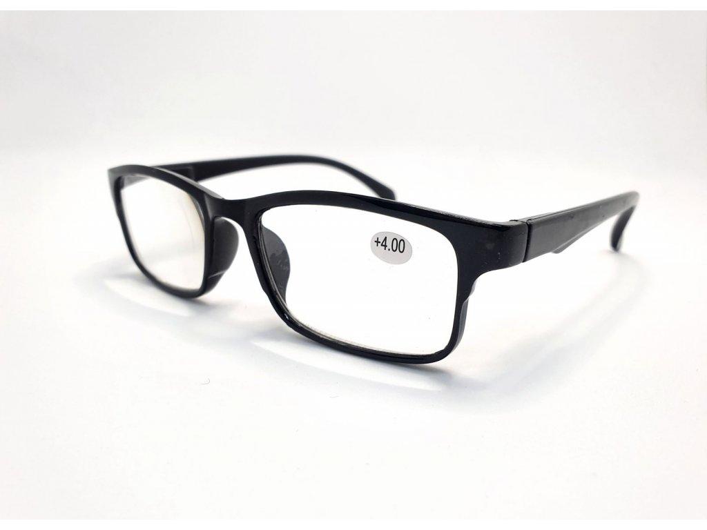 Dioptrické brýle 8622 /+4,00 černé