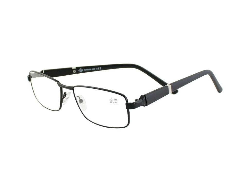 Dioptrické brýle Panorama 005/+3,50 black sklo