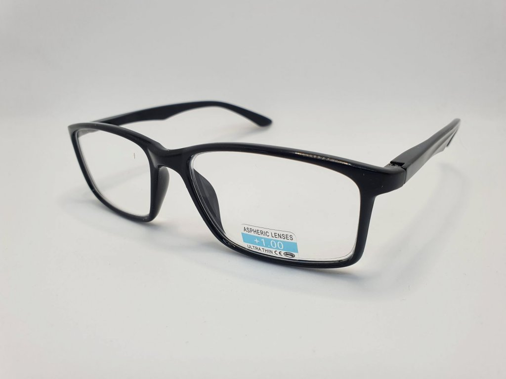 Dioptrické brýle P2.02/ +1,00 BLACK