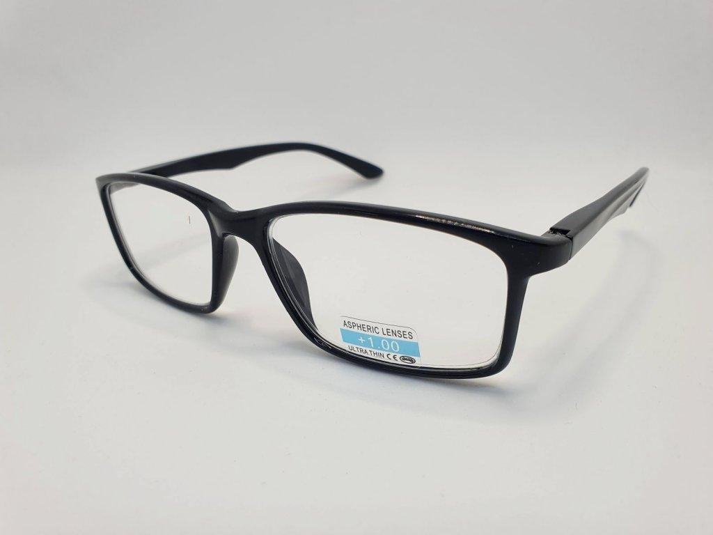 Dioptrické brýle P2.02/ +3,00 BLACK-WHITE