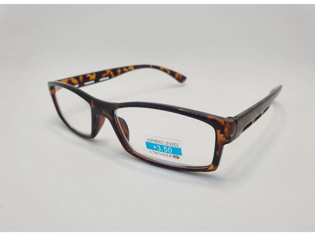 Dioptrické brýle 2R06/ +3,50 BROWN2