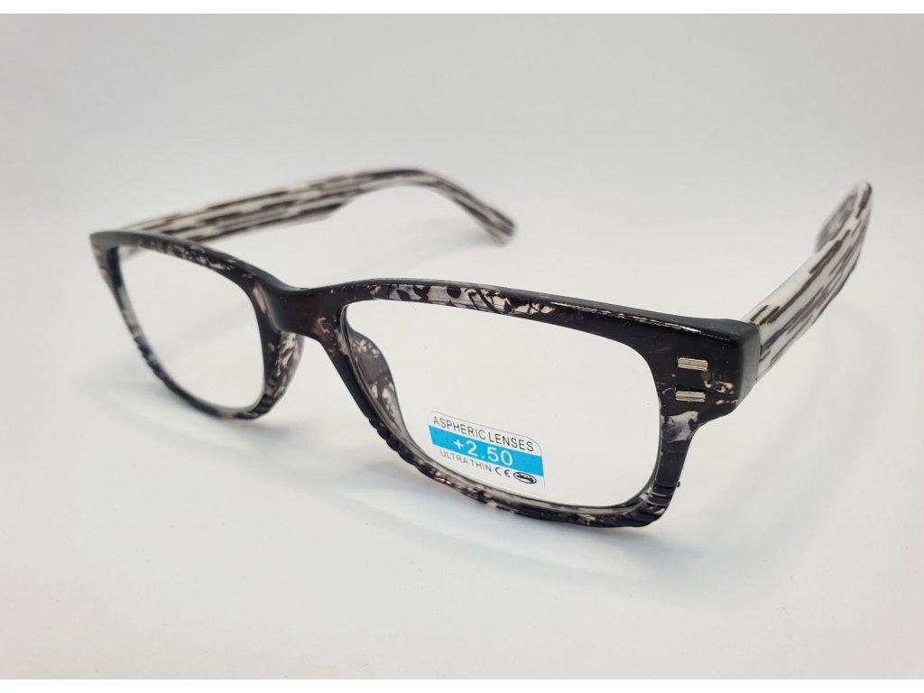 Dioptrické brýle 2R05/ +2,50 GREY