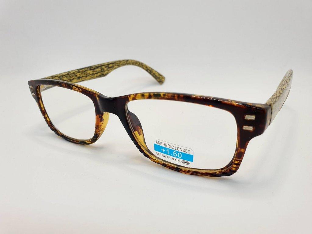 Dioptrické brýle 2R05/ +2,00 light brown