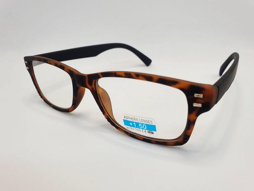 Dioptrické brýle 2R05/ +1,00 brown2