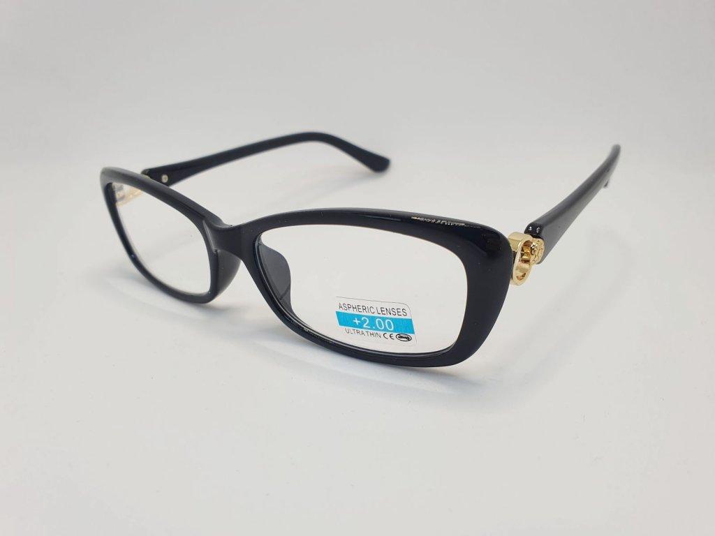 Dioptrické brýle 2R03/ +2,00 BLACK