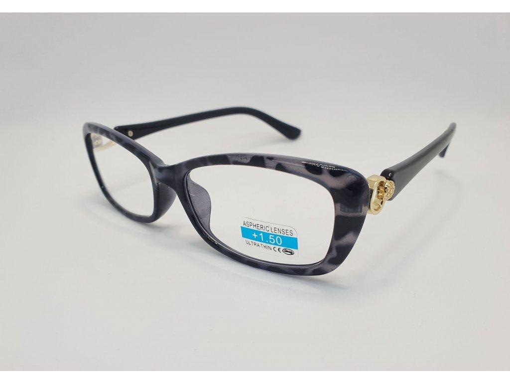 Dioptrické brýle 2R03/ +1,50 GREY