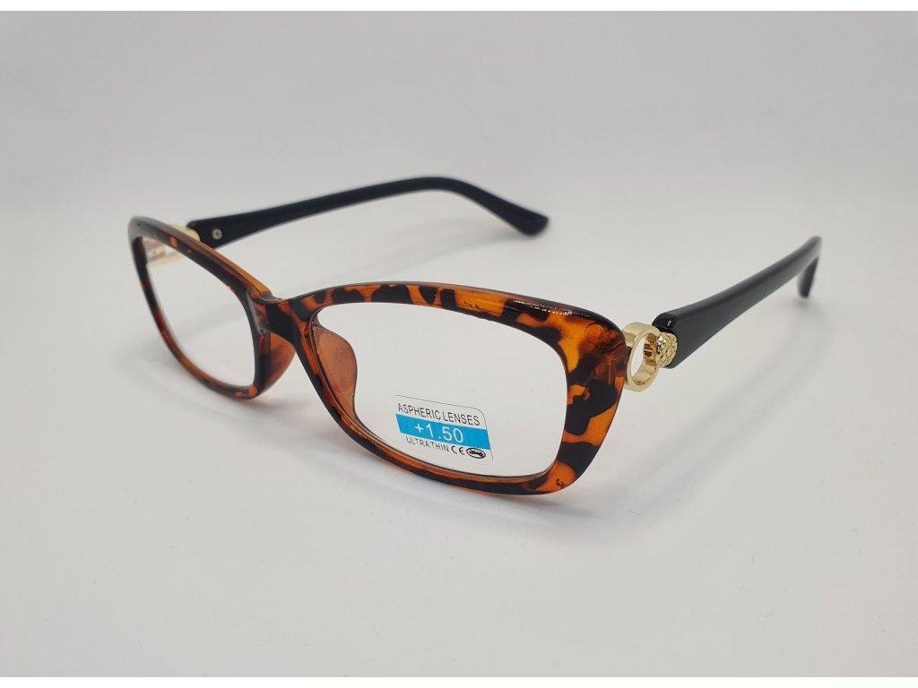 Dioptrické brýle 2R03/ +1,50 BROWN