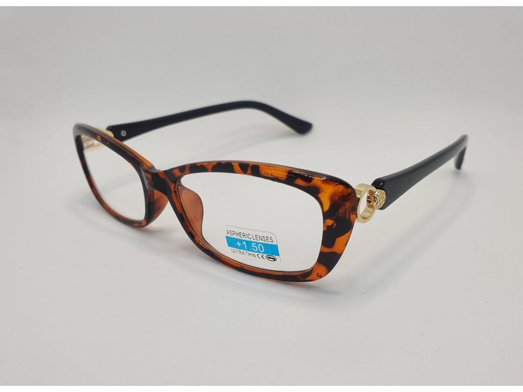 Dioptrické brýle 2R03/ +2,50 RED