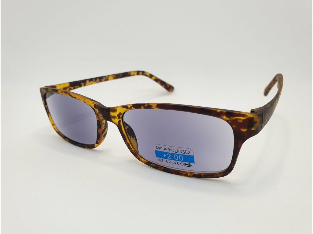 Dioptrické brýle 2R09/ +3,00 BROWN ZATMAVENÉ