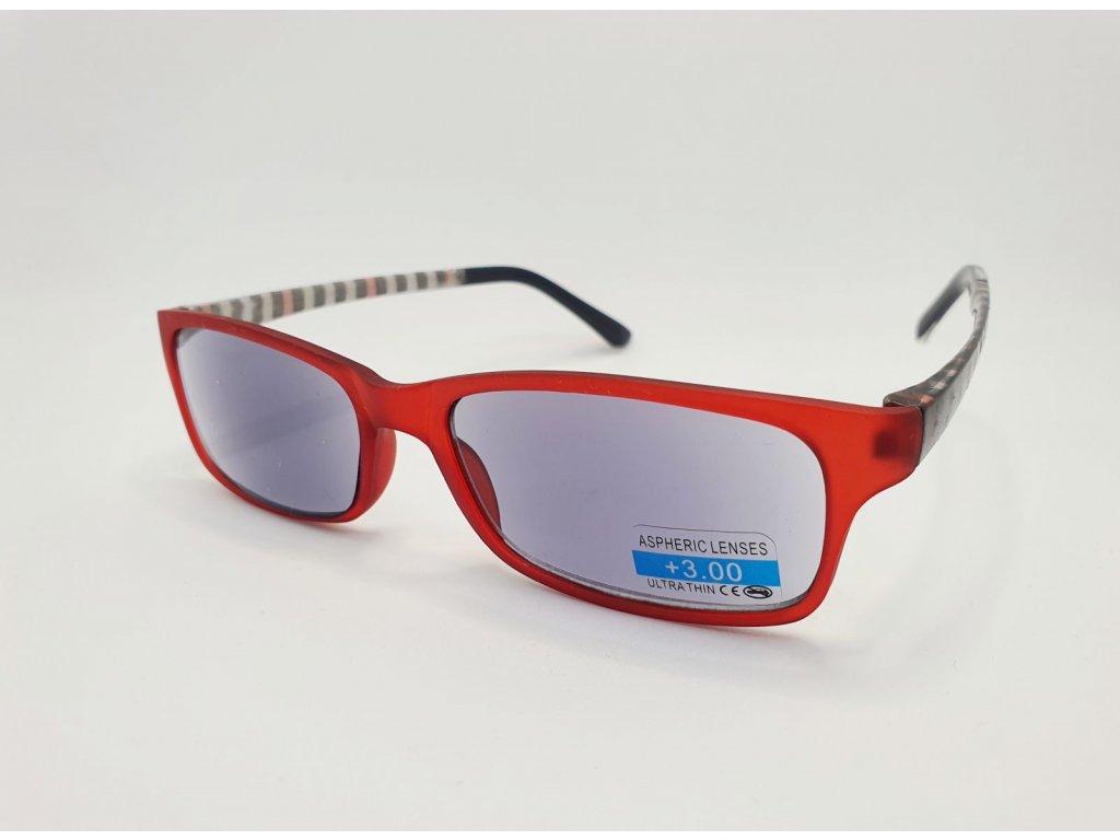Dioptrické brýle 2R09/ +2,50 VINE ZATMAVENÉ