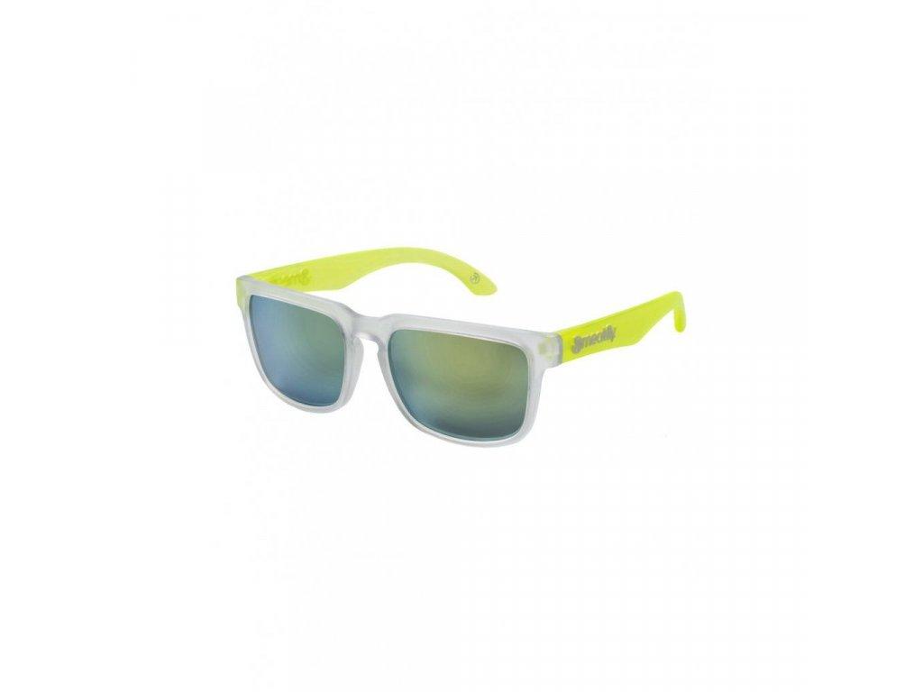 MEATFLY Meatfly Memphis 2 Sunglasses G - Clear, Lime