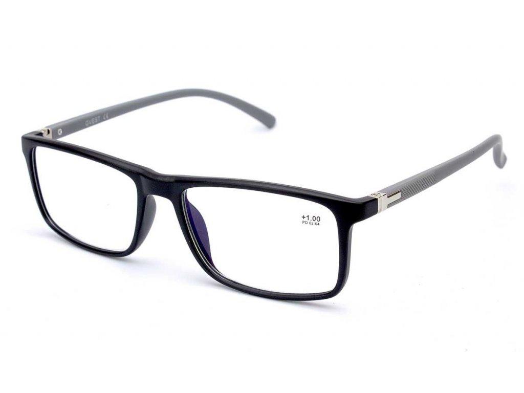 Dioptrické brýle Gvest 19402 / +2,25 s antireflexní vrstvou