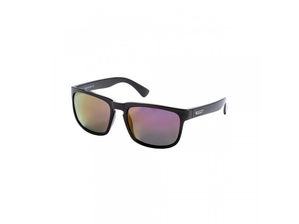 Sluneční brýle Nugget Clone 2 Sunglasses - S19 C - Black Glossy, Red