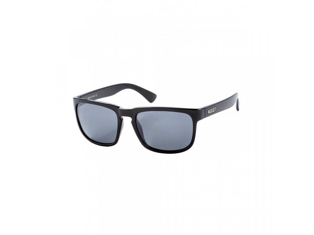 Sluneční brýle Nugget Clone 2 Sunglasses - S19 B - Black Glossy, Black