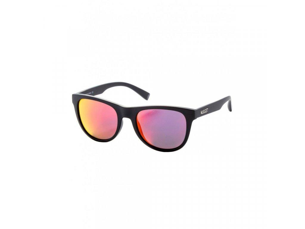 Sluneční brýle Nugget Whip 2 Sunglasses - S19 B - Black Matt, Red