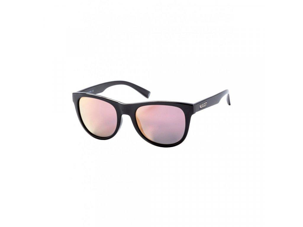 Sluneční brýle Nugget Whip 2 Sunglasses - S19 E - Black Glossy, Rose