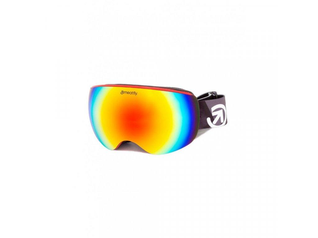 Snowboardové brýle Meatfly Ekko XL 2 A - Red