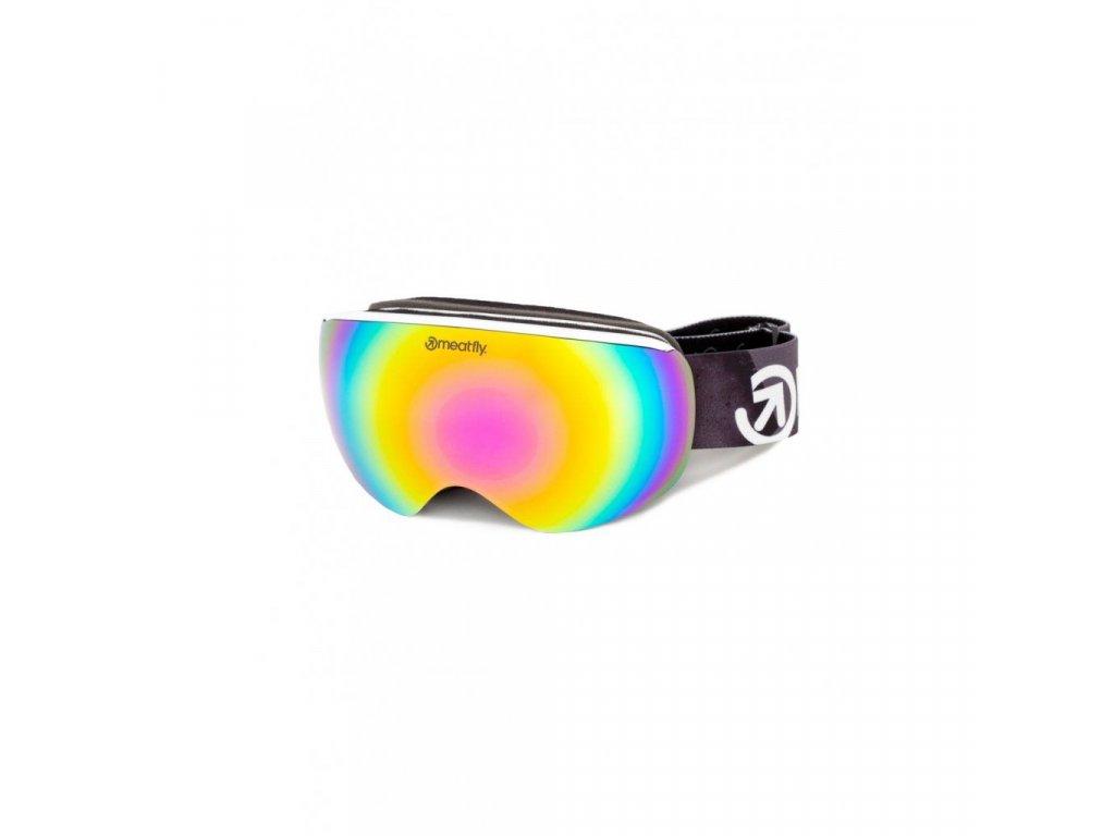 Snowboardové brýle Meatfly Ekko S 2 C - White