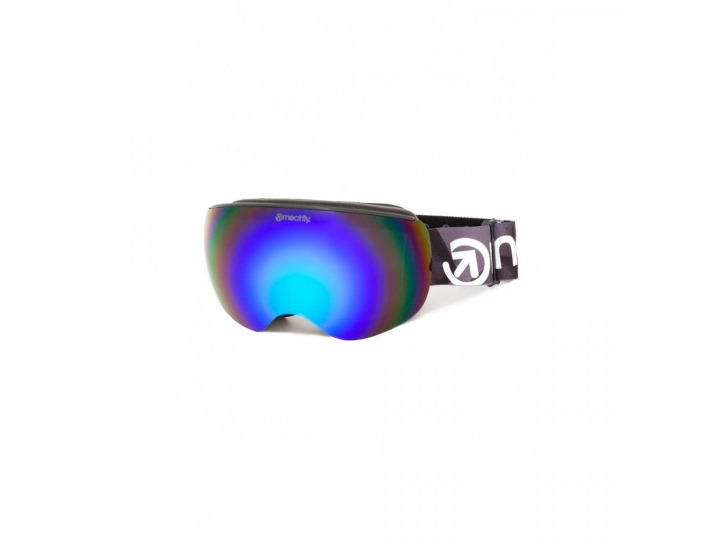 Snowboardové brýle Meatfly Ekko XL 2 B - Black