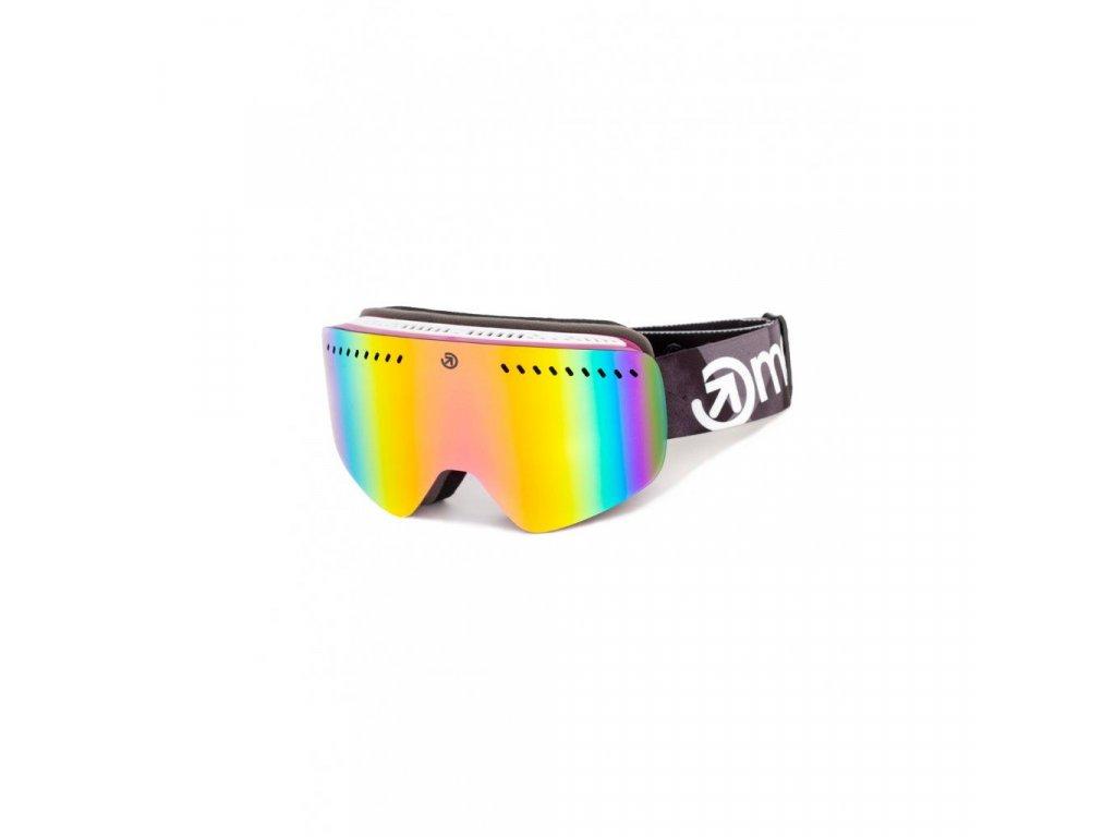 Snowboardové brýle Meatfly Makki S 2 B - Fuchsia