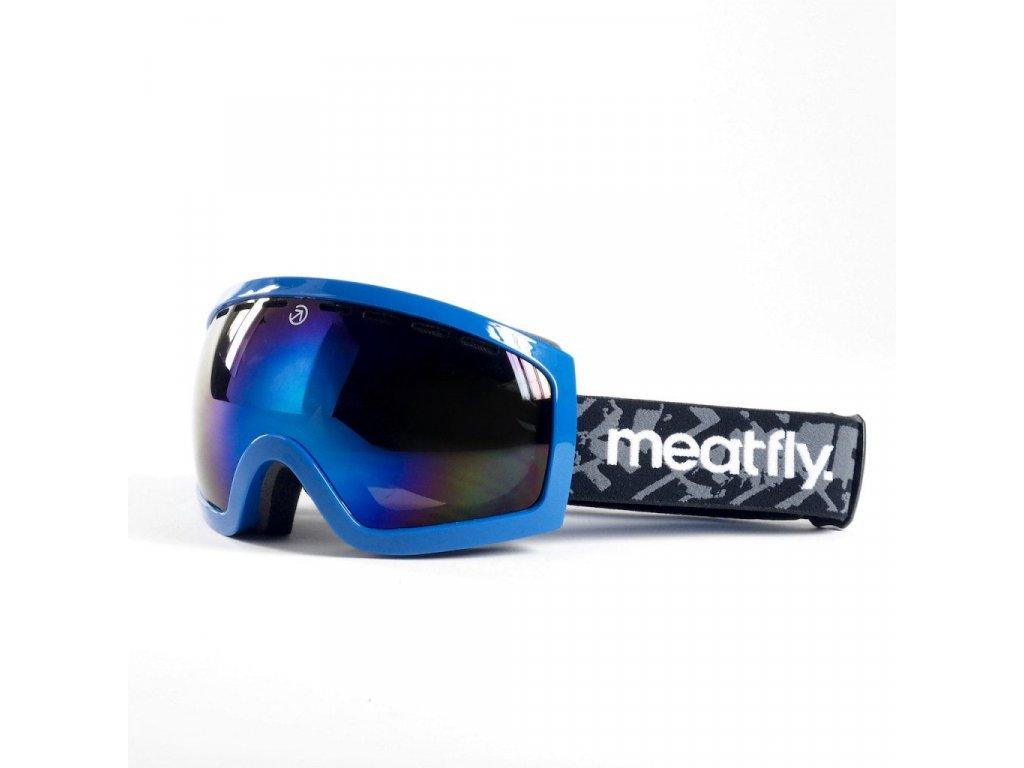 Brýle Meatfly Sphere 2 Goggles C - Blue, Blue Chrome