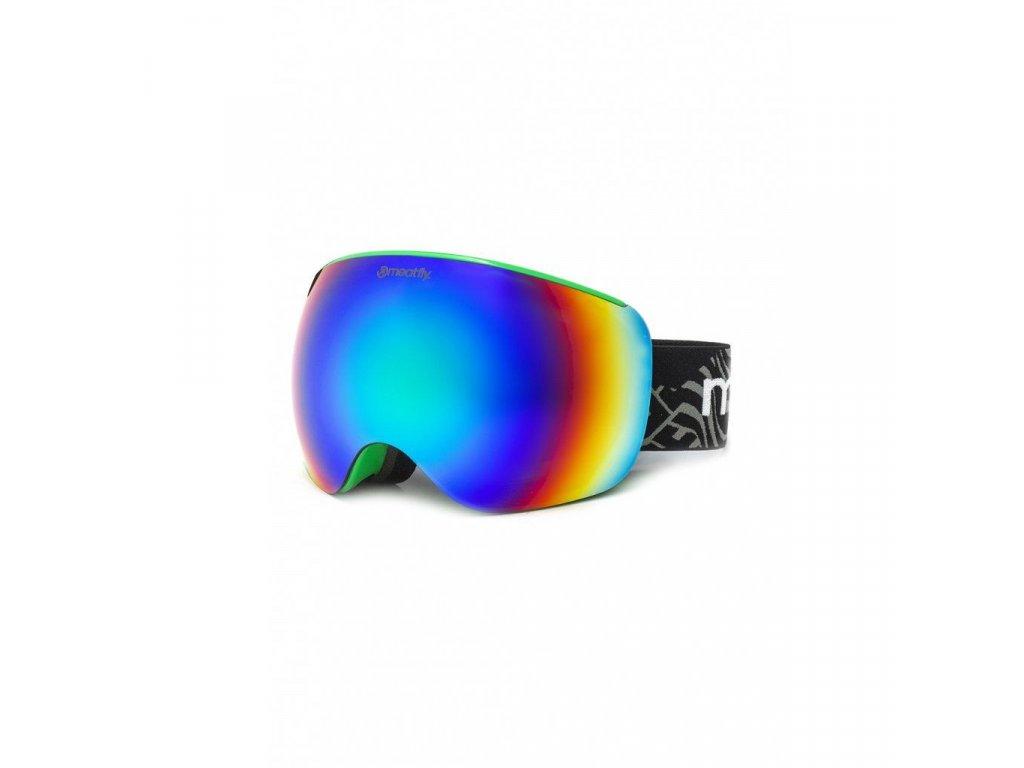 Meatfly Ekko XL Goggles D - Green