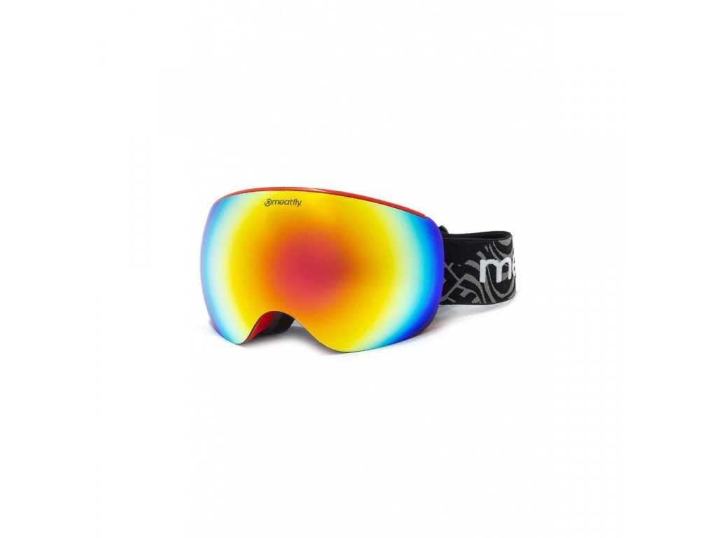 Meatfly Ekko XL Goggles A - Red