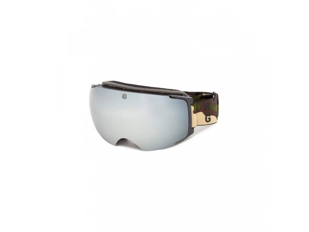 Snowboardové brýle Nugget Discharge 4 F - Camo