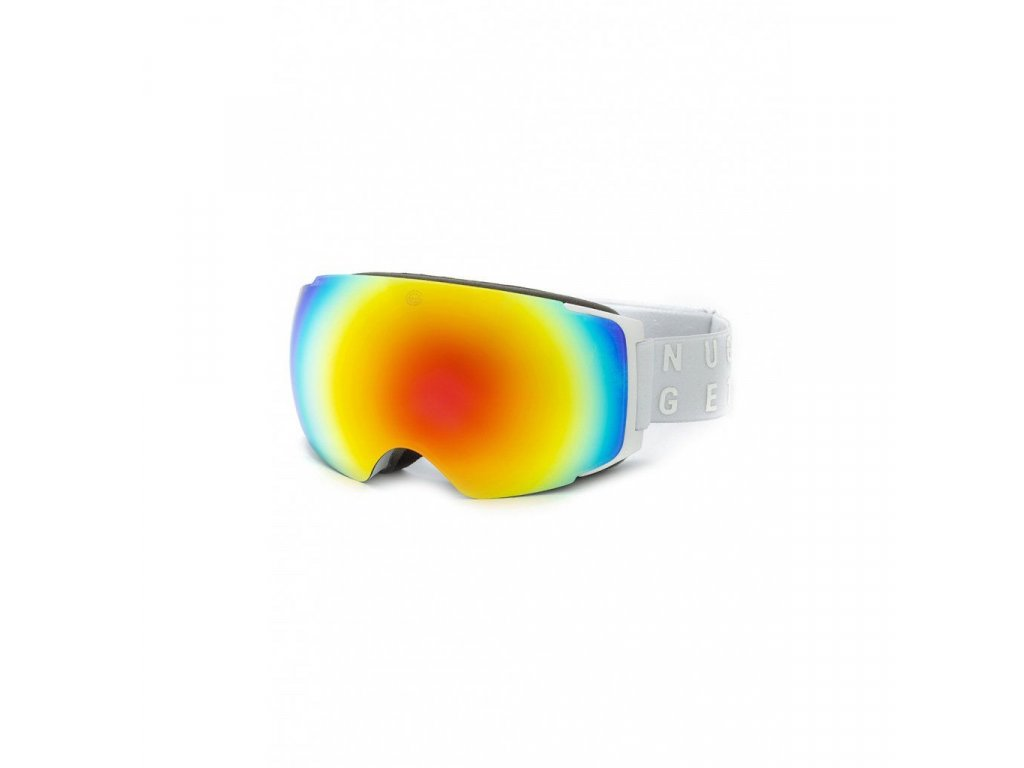 Nugget Discharge 3 Goggles A - White