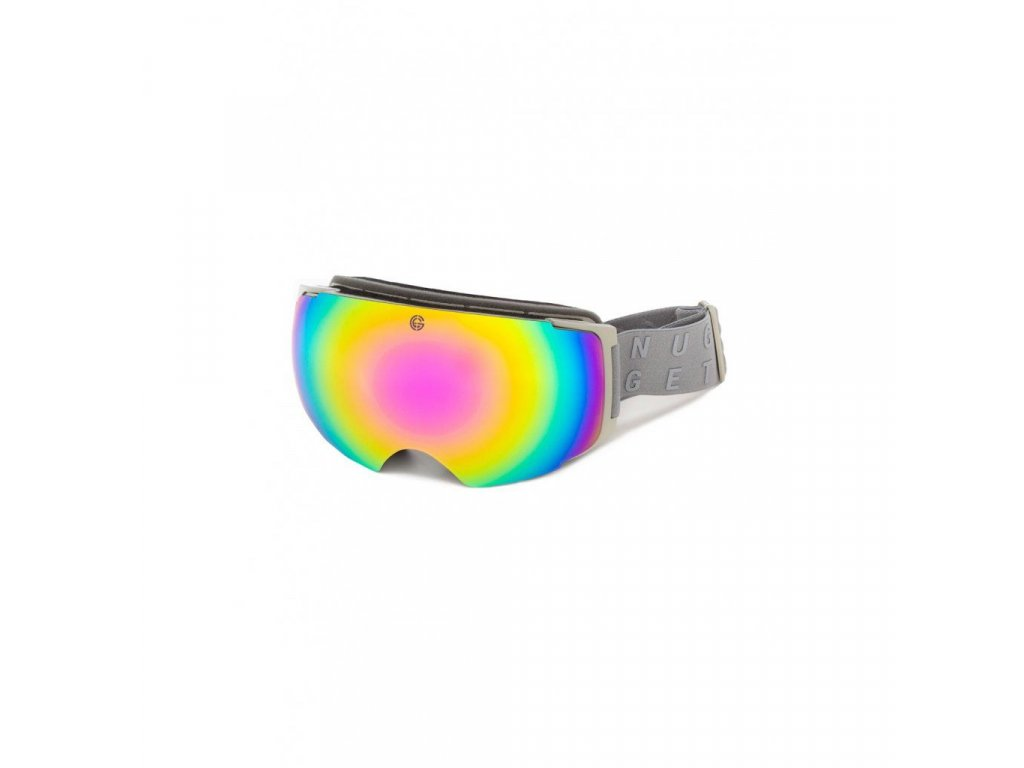 Snowboardové brýle Nugget Discharge 4 E - Grey