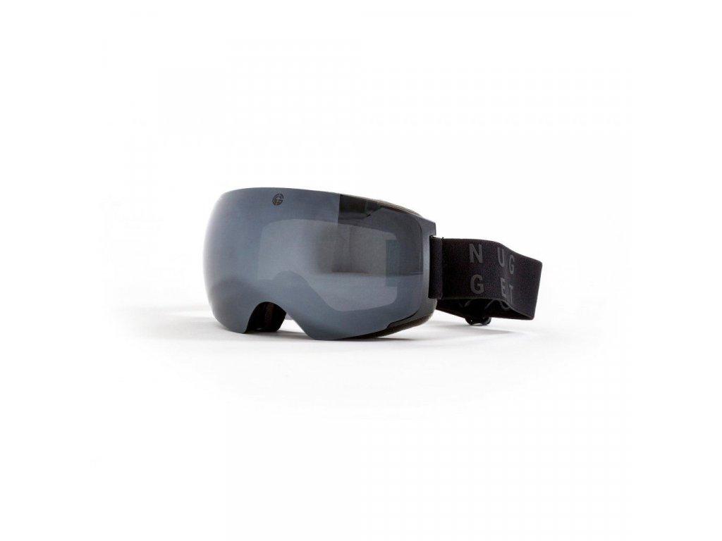 Brýle Nugget Discharge 2 Goggles B - Black/Black Chrome