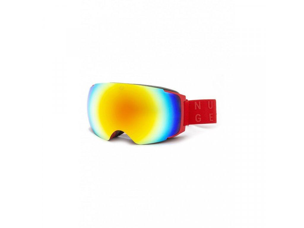 Nugget Discharge 3 Goggles D - Red