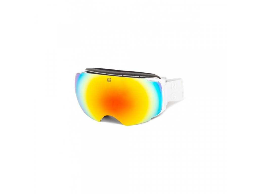 Snowboardové brýle Nugget Discharge 4 A - White