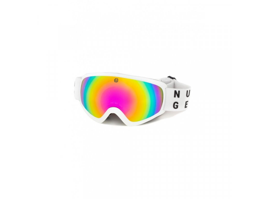 Snowboardové brýle Nugget Persistence 3 A - White
