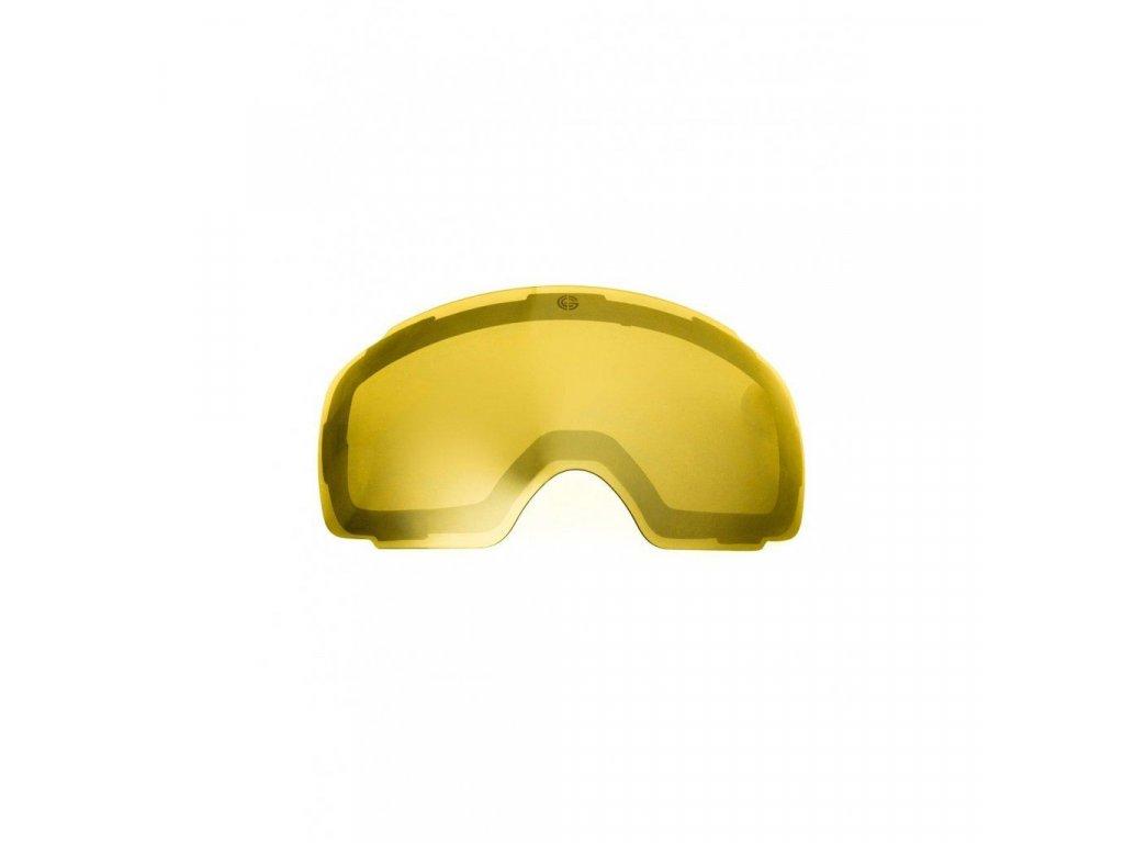 Náhradní sklo Nugget Discharge Spare Lens E - Trans Yellow