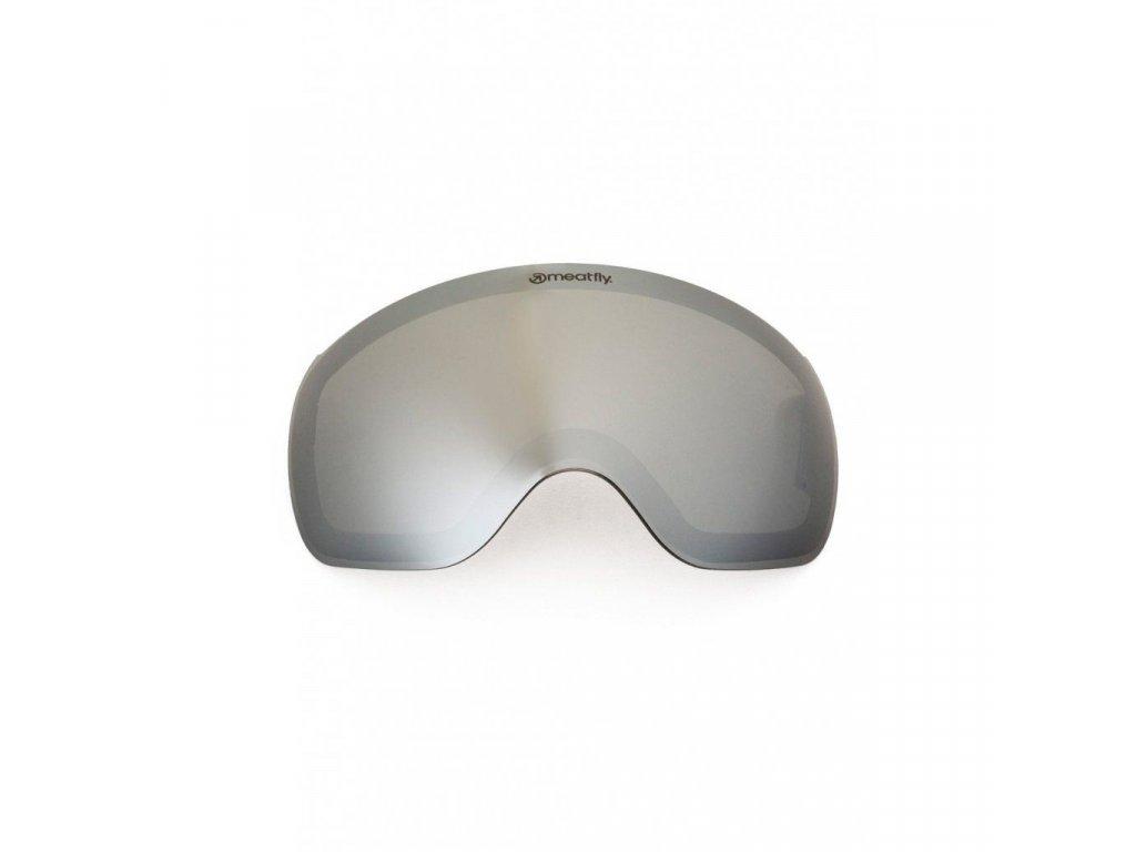 Meatfly Spare Lens Ekko S A - Black Chrome