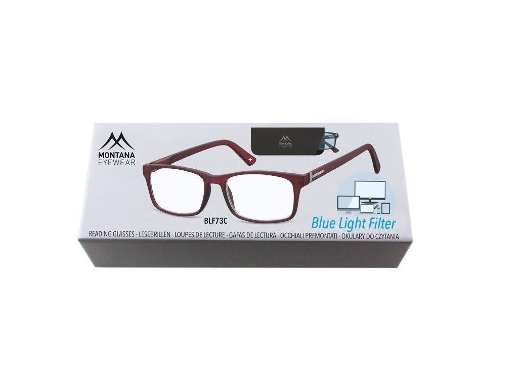 MONTANA EYEWEAR Brýle na počítač BLF BOX 73C +1,00
