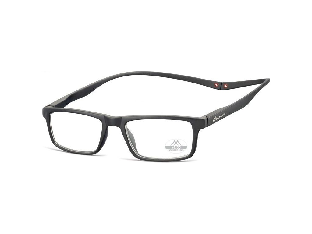 MONTANA EYEWEAR Brýle na čtení s magnetickým spojem za krk MR59/+2,00
