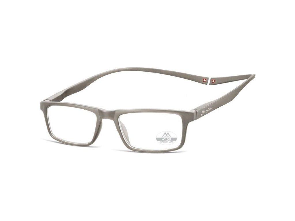MONTANA EYEWEAR Brýle na čtení s magnetickým spojem za krk MR59C/+3,00