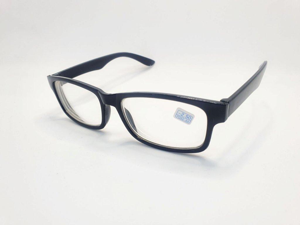 Dioptrické brýle na krátkozrakost 6242 / -1,50 BLACK
