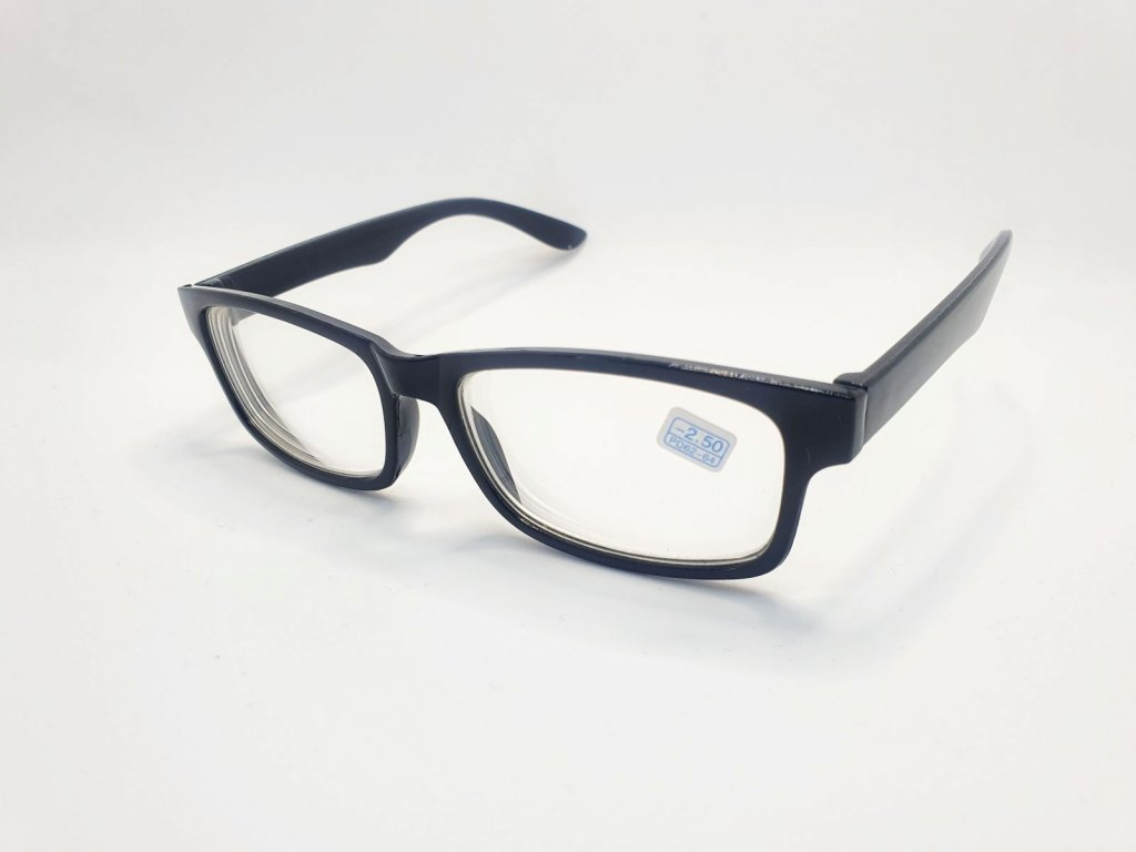 Dioptrické brýle na krátkozrakost 6242 / -1,00 BLACK