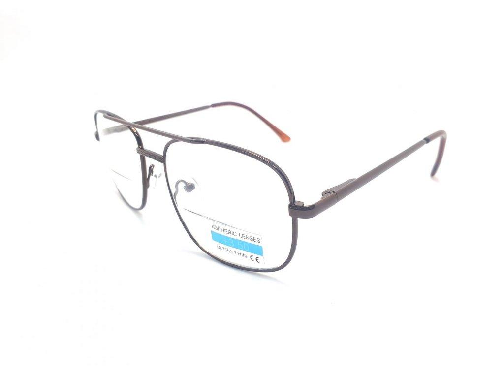 Dioptrické bifokální brýle M9004 +3,50